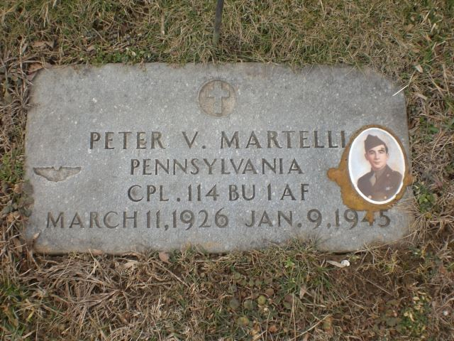Peter Martelli Grave courtesy of Gina Reardon-Gaddis
